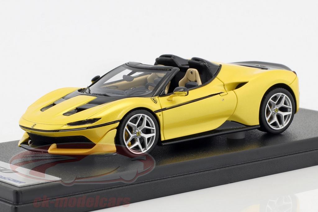 looksmart-1-43-ferrari-j50-roadster-ano-de-construccion-2016-tristrato-amarillo-ls485e/