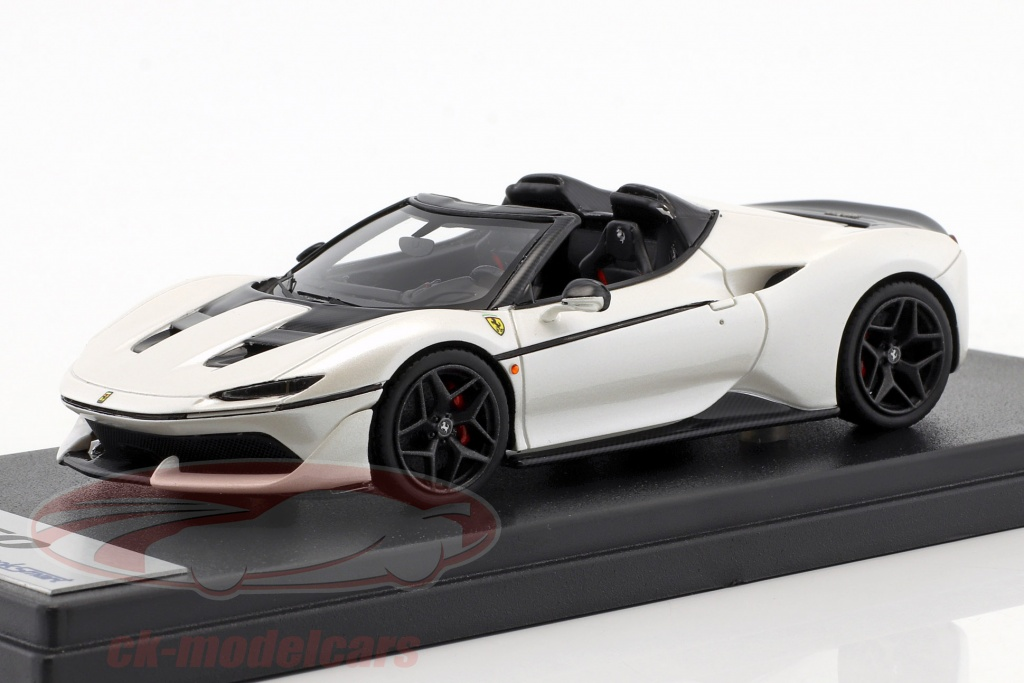 looksmart-1-43-ferrari-j50-roadster-year-2016-liana-white-ls485b/