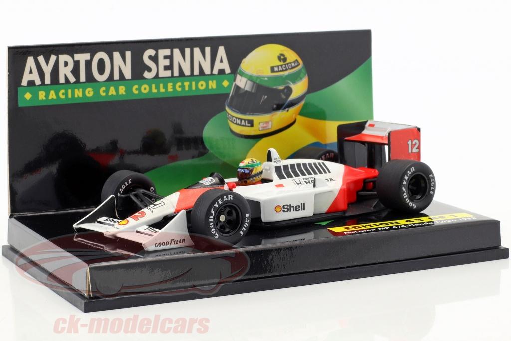 minichamps-1-43-16-car-set-ayrton-senna-racing-car-collection-med-certifikat-264248868727/