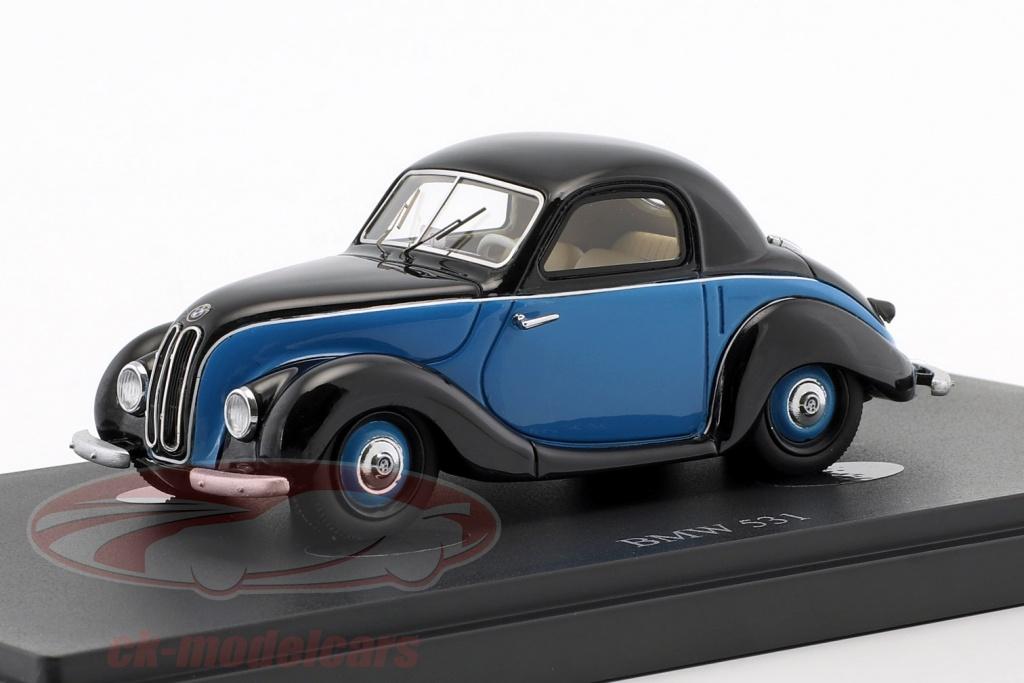 autocult-1-43-bmw-531-anno-di-costruzione-1951-nero-blu-03016/