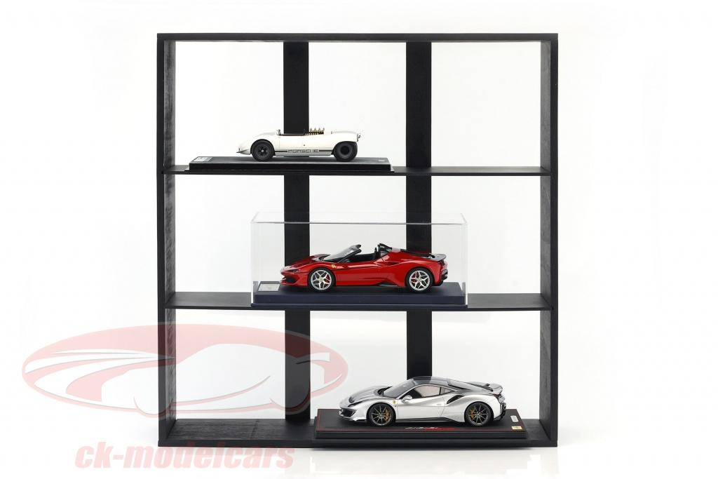 hoog-kwaliteit-houten-plank-voor-model-autono39s-en-miniaturen-donker-bruin-60-x-64-x-15-cm-atlas-3950004/
