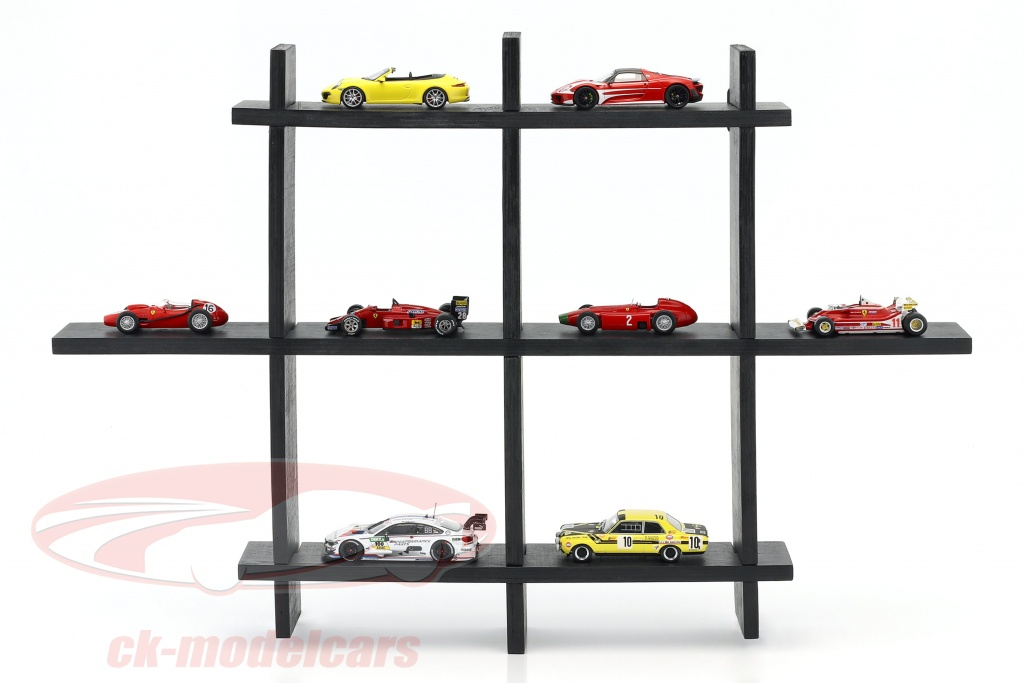 high-quality-wooden-shelf-for-model-cars-and-miniatures-dark-brown-1-43-atlas-3950003/