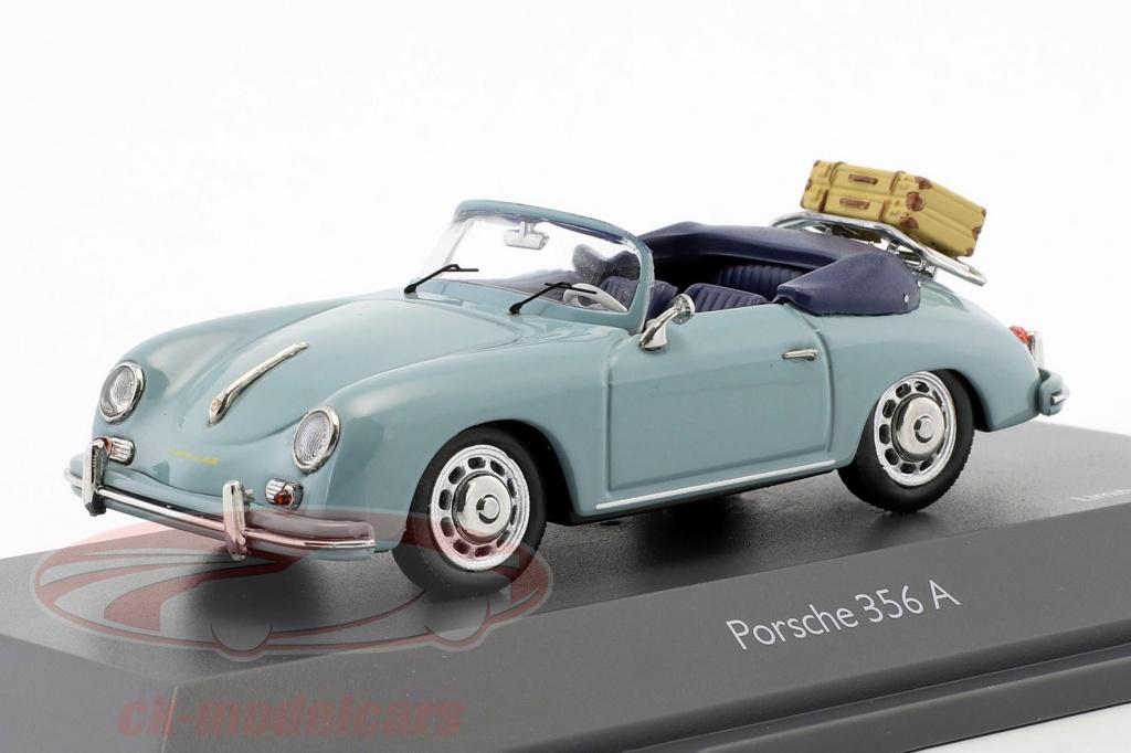 schuco-1-43-porsche-356-a-cabriolet-tempo-di-percorrenza-blu-450258400/