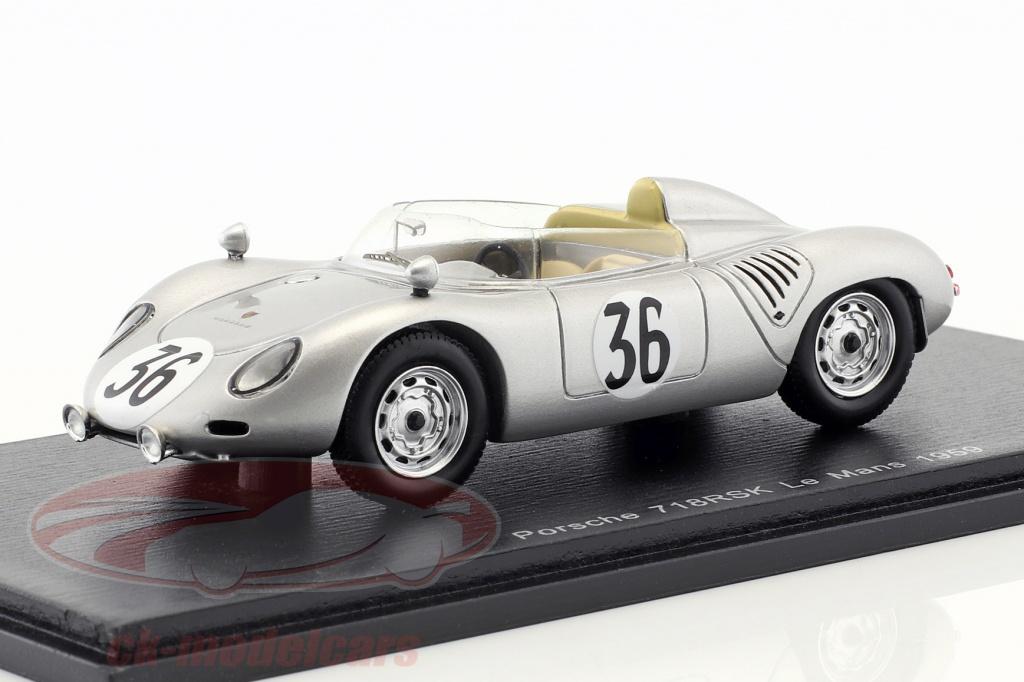 spark-1-43-porsche-718-rsk-no36-24h-lemans-1959-de-beaufort-heins-s4679/