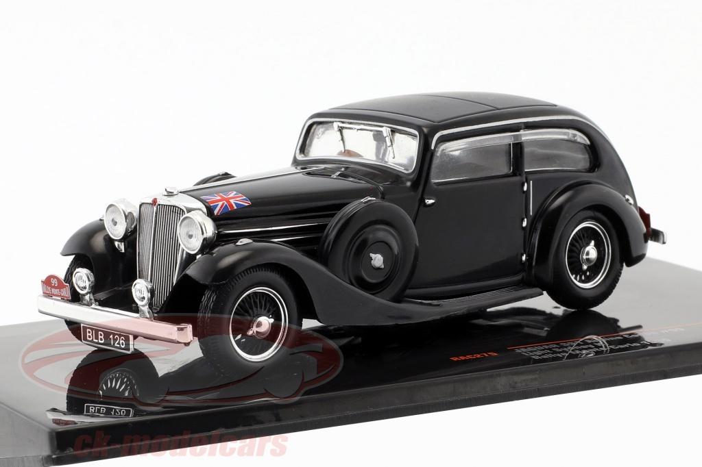 ixo-1-43-jaguar-ss1-airline-coupe-no99-rallye-monte-carlo-1935-sydney-h-light-rac275/