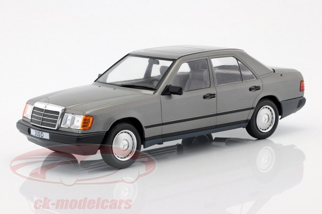 modelcar-group-1-18-mercedes-benz-300-d-w124-ano-de-construcao-1984-cinza-metalico-mcg18100/