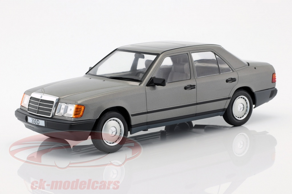 modelcar-group-1-18-mercedes-benz-300-d-w124-baujahr-1984-grau-metallic-mcg18100/