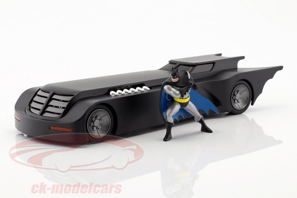 jadatoys-1-24-animated-batmobil-mit-batman-figur-mattschwarz-30916/