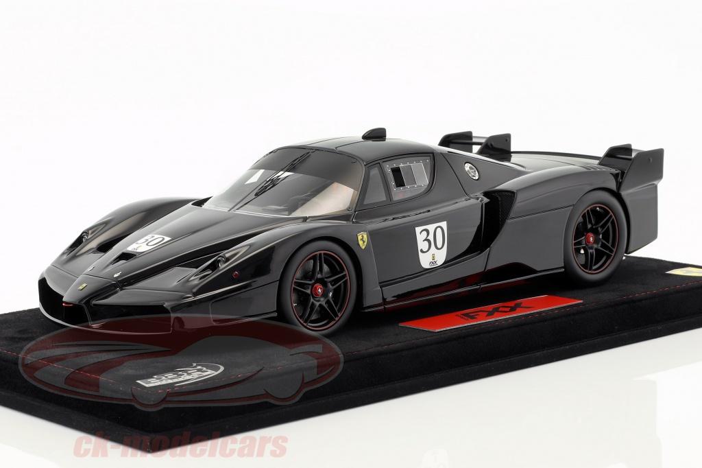bbr-models-1-18-m-schumacher-ferrari-fxx-nero-ds-1250-no30-with-showcase-black-fxx-04b/