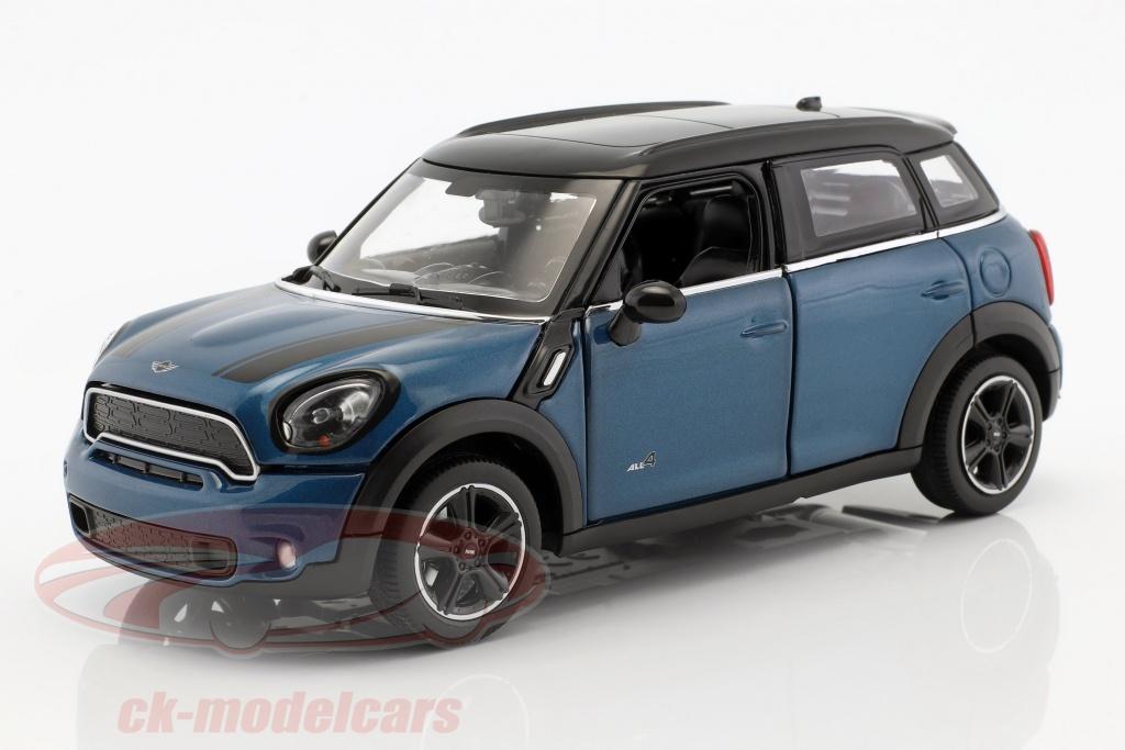 rastar-1-24-mini-cooper-s-countryman-r60-bleu-metallique-noir-56400b/