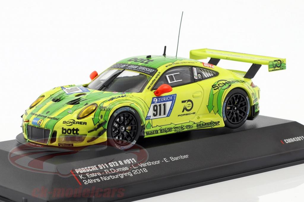 cmr-1-43-porsche-911-991-gt3-r-no911-grello-pole-position-24h-nuerburgring-2018-cmr43011/