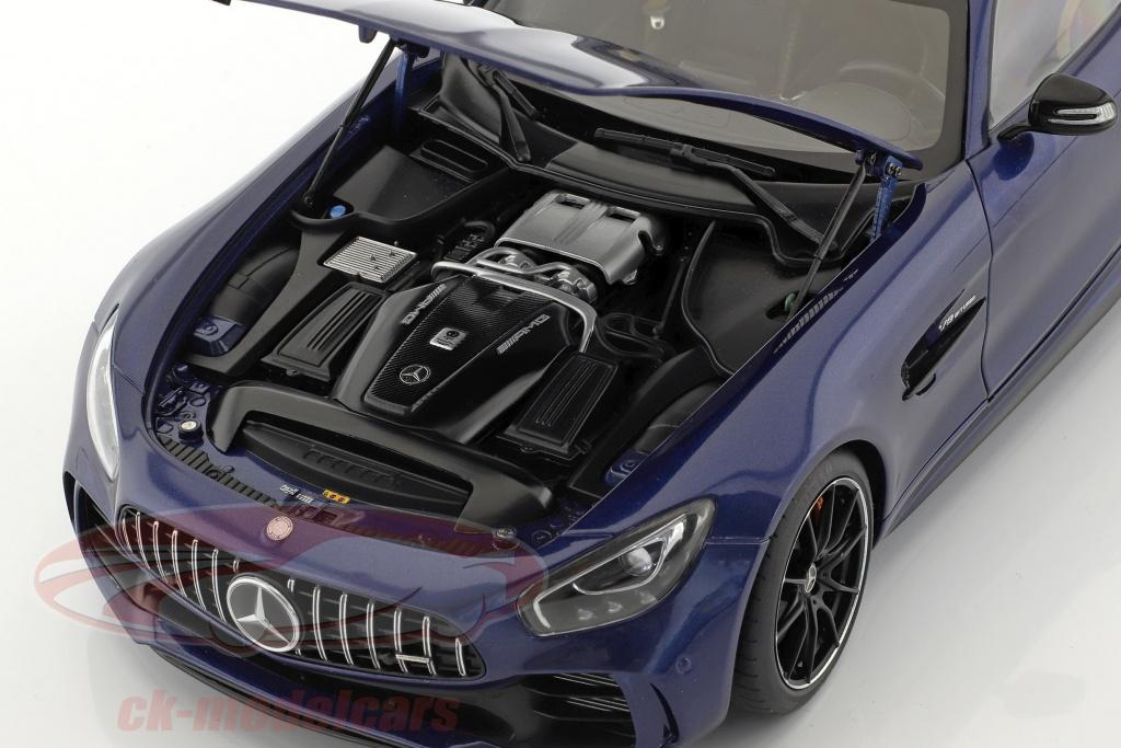 AUTOart 76334 MERCEDES BENZ AMG GT R 1//18 MODEL CAR BRILLIANT BLUE METALLIC