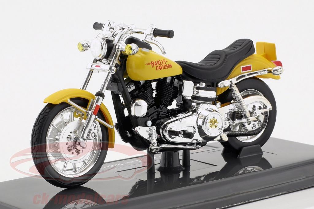 maisto-1-18-harley-davidson-fxs-low-rider-annee-de-construction-1977-jaune-39360-20-18866/