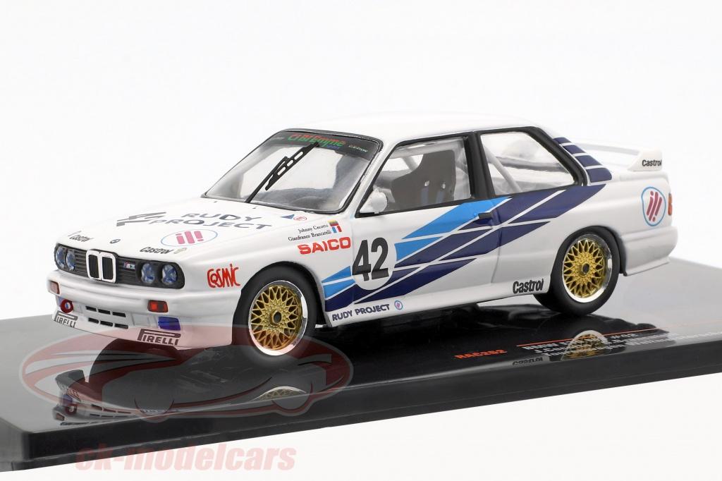 ixo-1-43-bmw-m30-e30-no42-voiture-de-tourisme-coupe-du-monde-dijon-1987-cibiemme-cecotto-brancetelli-rac262/