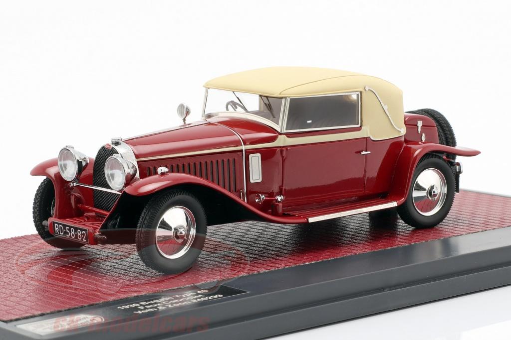 matrix-1-43-bugatti-tipo-46-faux-cabriole-veth-zoon-ano-de-construccion-1930-rojo-beige-mx40205-032/