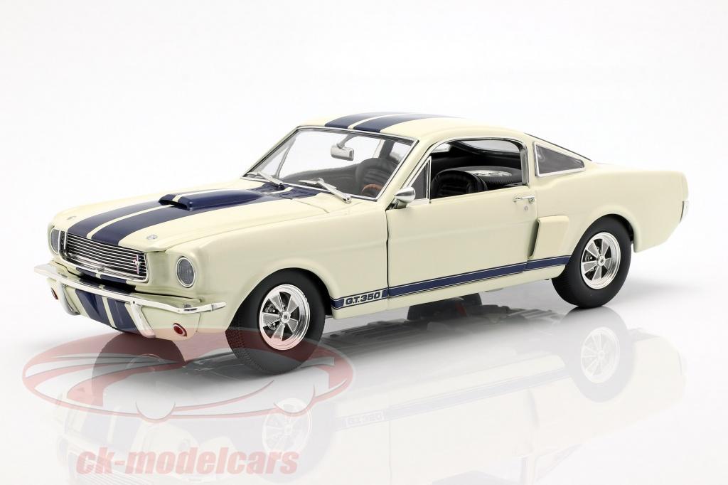 gmp-1-18-shelby-gt350-supercharged-annee-de-construction-1966-blanc-avec-bleu-rayures-a1801833/