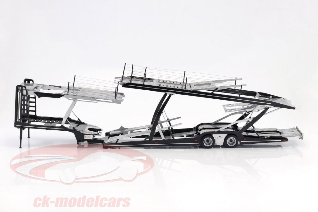 nzg-1-18-lohr-auflieger-autotransporter-fuer-mercedes-benz-actros-silber-schwarz-lx971000-971/