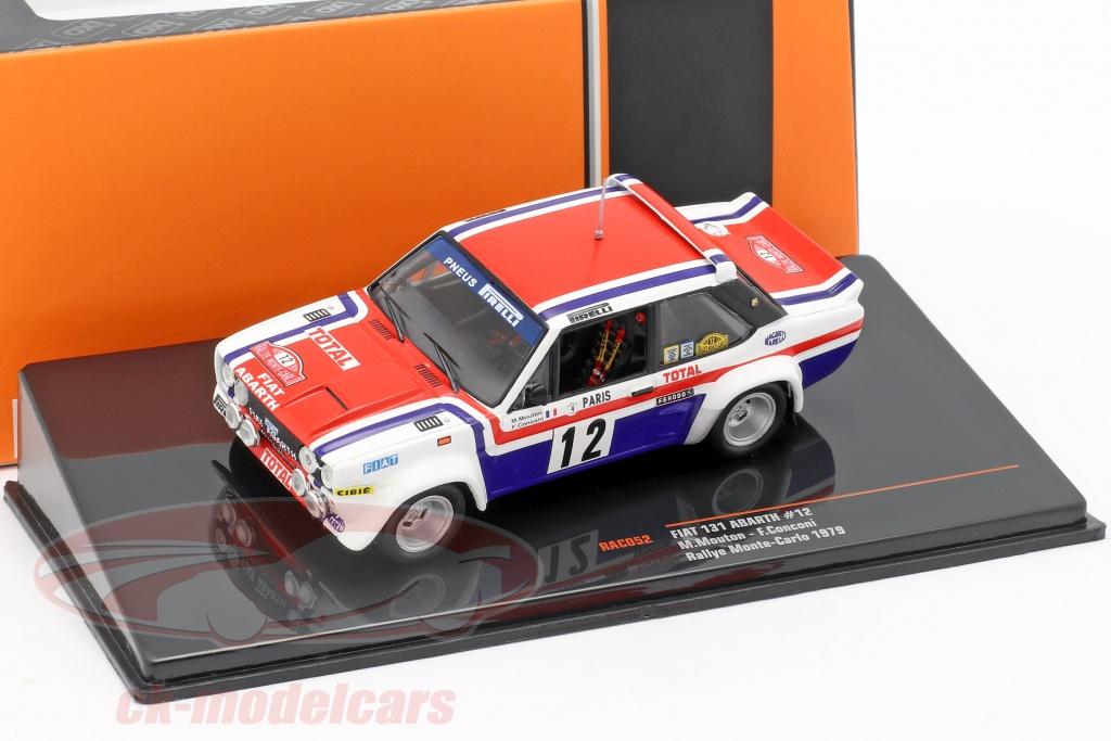 ixo-1-43-fiat-131-abarth-no12-7-rallye-monte-carlo-1979-mouton-conconi-rac052/