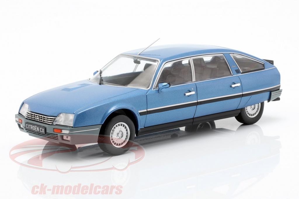 whitebox-1-24-citroen-cx-2500-prestige-phase-2-year-1986-blue-metallic-wb124027/