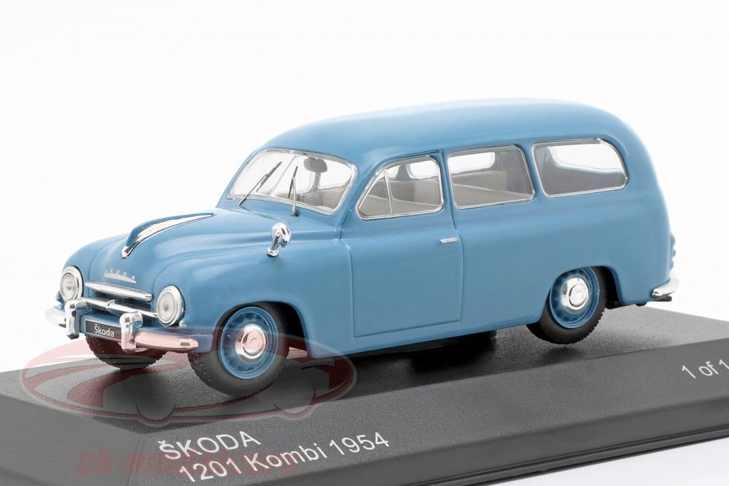 whitebox-1-43-skoda-1201-station-wagon-bouwjaar-1954-blauw-wb283/