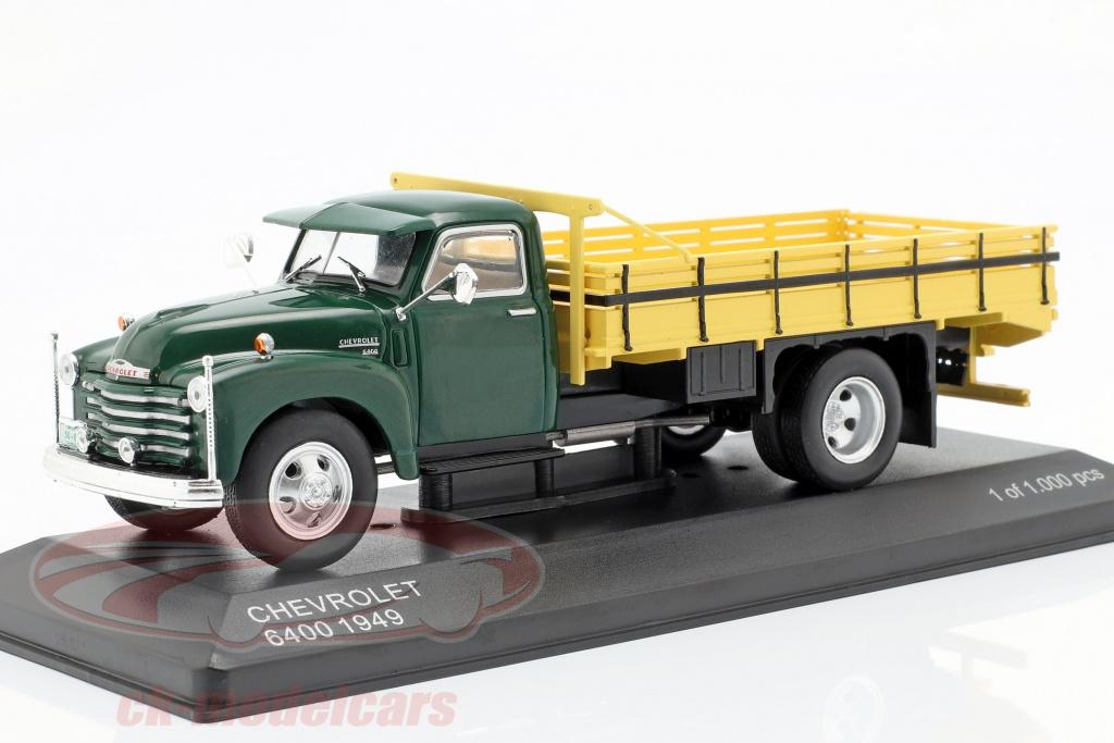 whitebox-1-43-chevrolet-6400-camion-piattaforma-anno-di-costruzione-1949-verde-giallo-wb276t/