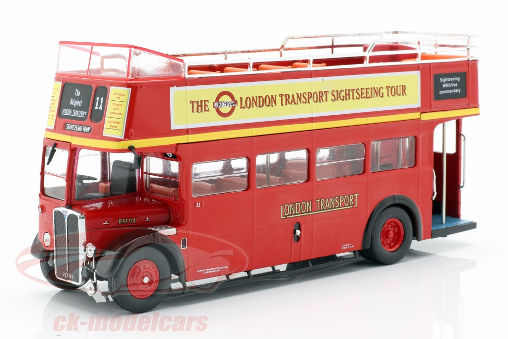 ixo-1-43-aec-regent-rt-open-top-london-sightseeing-ano-de-construccion-1950-rojo-bus018/
