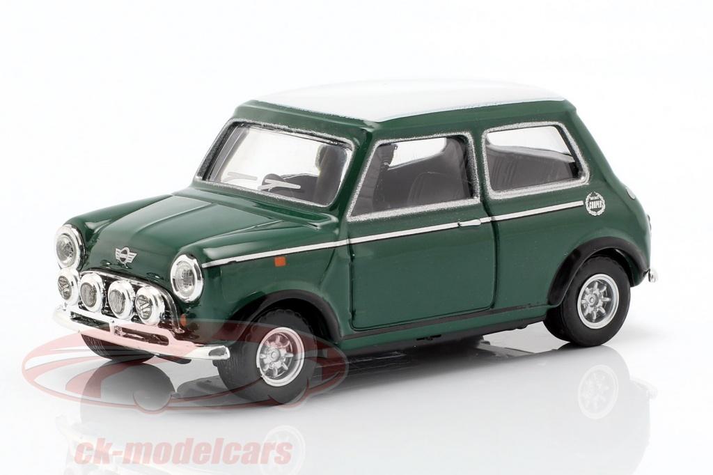 cararama-1-43-mini-cooper-met-racing-lampen-groen-wit-4-41300/