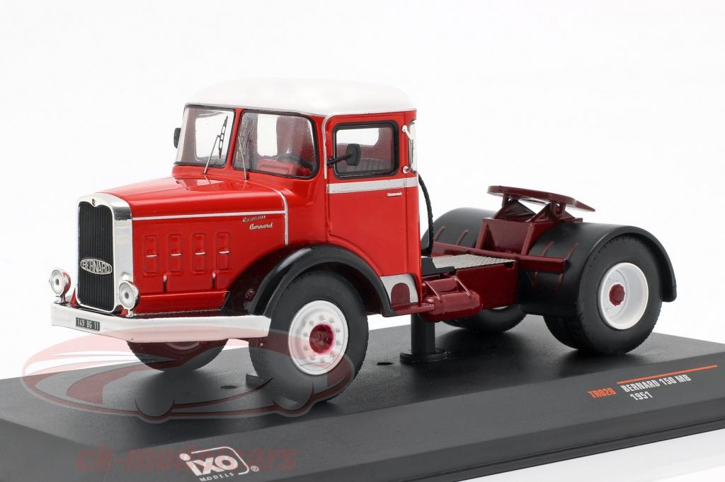 ixo-1-43-bernard-150-mb-camion-ano-de-construccion-1951-rojo-blanco-tr028/