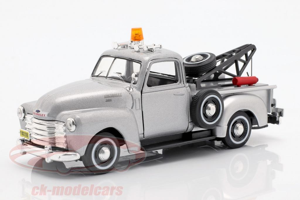 cararama-1-43-chevrolet-c3100-tow-truck-zilver-metallic-4-13870/