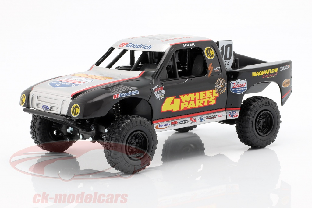 newray-1-24-ford-f-150-4-wheel-parts-off-road-truck-no10-greg-adler-71233/