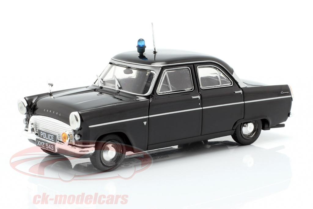altaya-1-43-ford-consul-mk-ii-politie-zwart-in-blaar-ck54121/