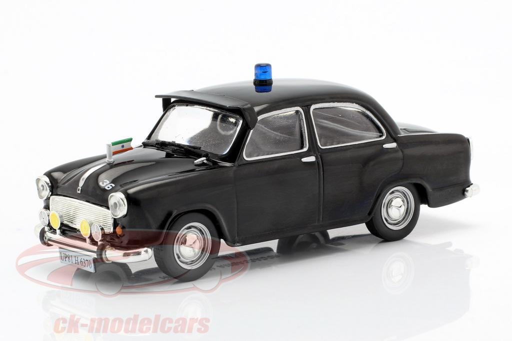 altaya-1-43-hindustan-ambassador-politie-zwart-in-blaar-ck54117/
