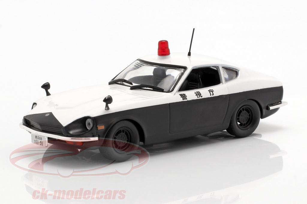 altaya-1-43-datsun-fairlady-240-z-polizia-bianco-nero-in-bolla-ck54124/