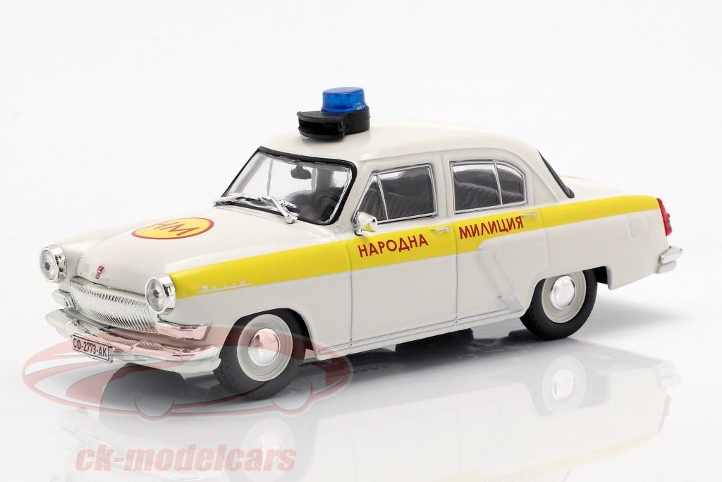 altaya-1-43-wolga-gaz-m21-politie-wit-geel-in-blaar-ck54105/