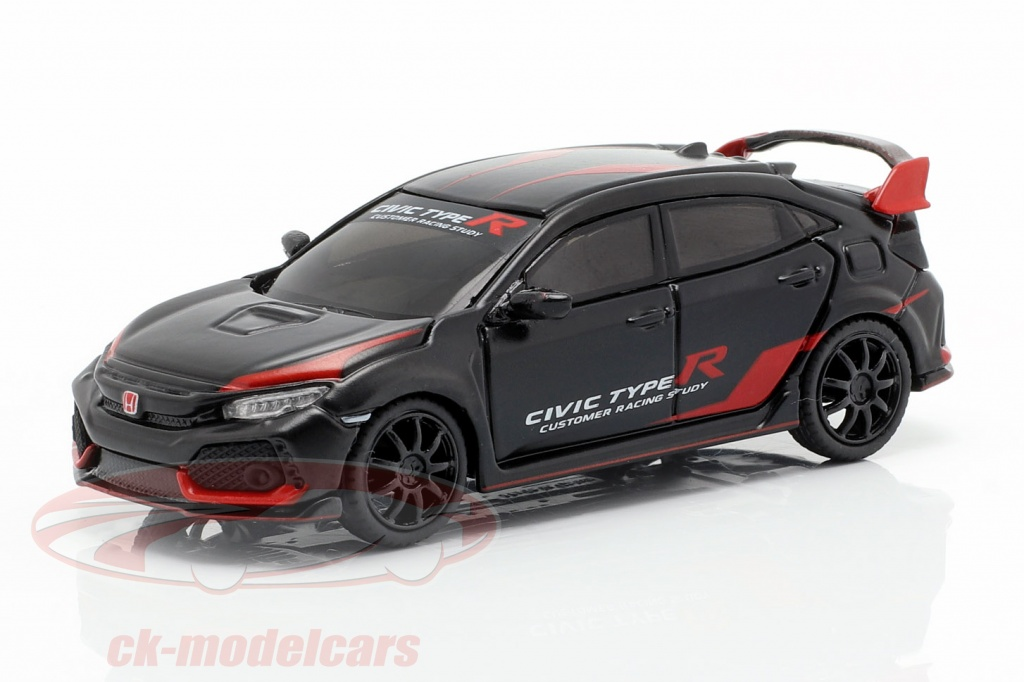 true-scale-1-64-honda-civic-type-r-fk8-lhd-customer-racing-study-noir-rouge-mgt00023-l/