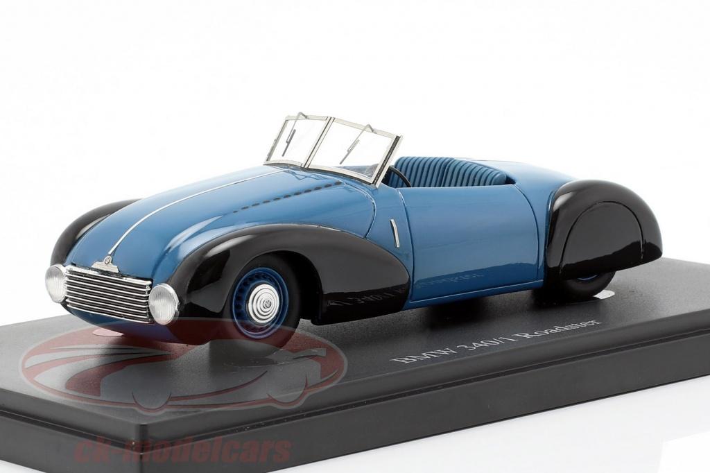 autocult-1-43-bmw-340-1-roadster-bouwjaar-1949-blauw-zwart-06029/
