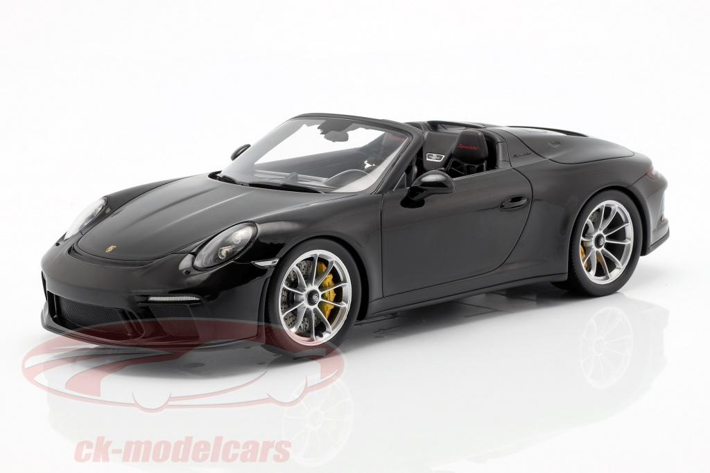spark-1-18-porsche-911-991-ii-speedster-baujahr-2019-mit-vitrine-schwarz-wap0219320k041/
