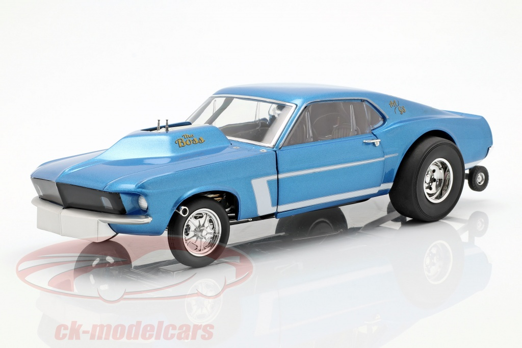 gmp-1-18-ford-mustang-gasser-the-boss-annee-de-construction-1969-bleu-metallique-18913/