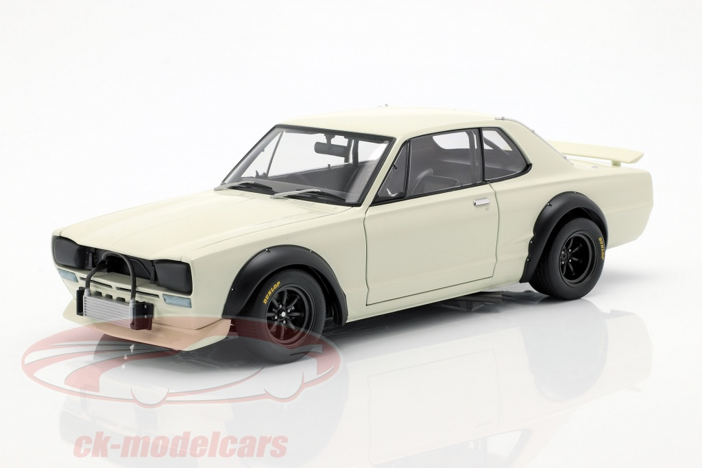 autoart-1-18-nissan-skyline-gt-r-kpgc-10-racing-bouwjaar-1972-wit-87279/