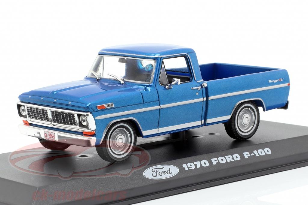 greenlight-1-43-ford-f-100-pick-up-truck-year-1970-blue-metallic-86317/
