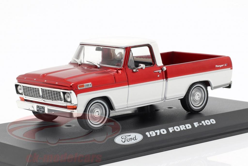 greenlight-1-43-ford-f-100-pick-up-camion-anno-di-costruzione-1970-rosso-bianco-86318/