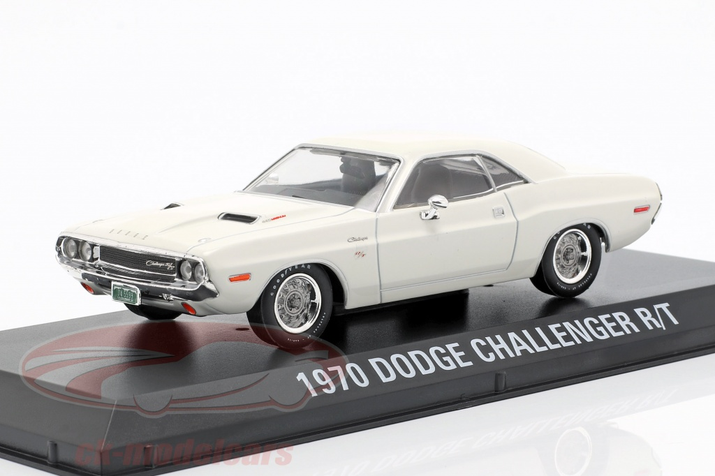 greenlight-1-43-dodge-challenger-r-t-ano-de-construcao-1970-filme-vanishing-point-1971-branco-86545/