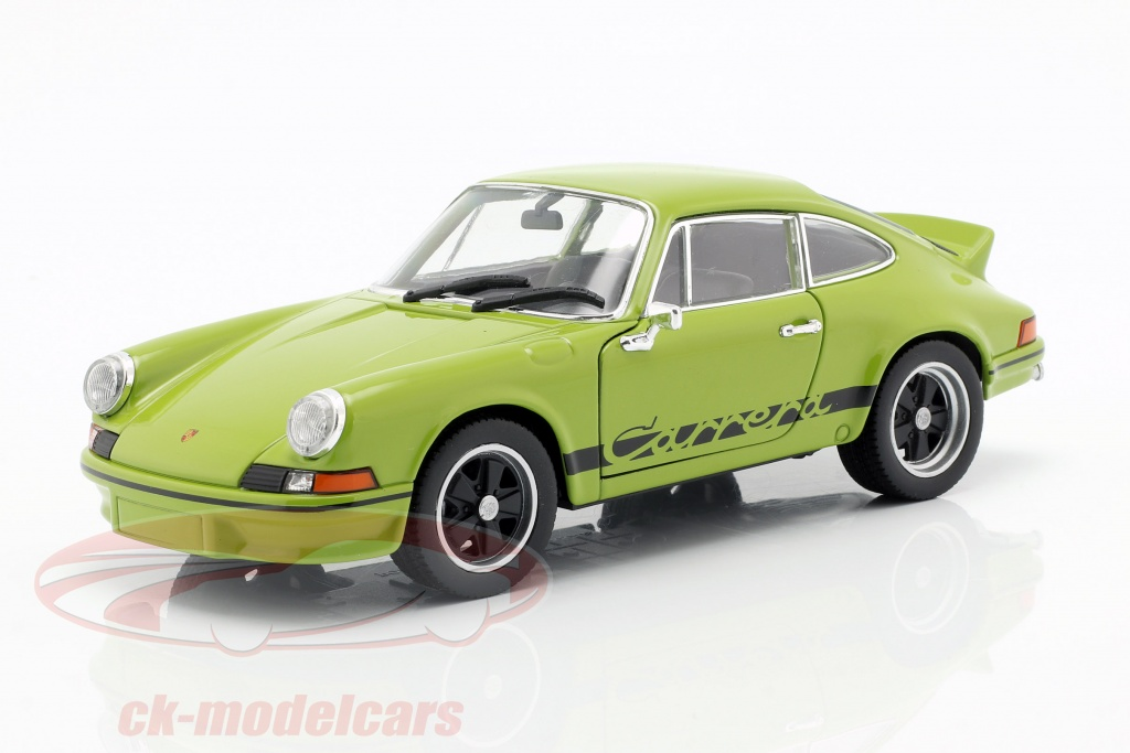 welly-1-24-porsche-911-carrera-rs-year-1973-lime-green-black-map02482118/