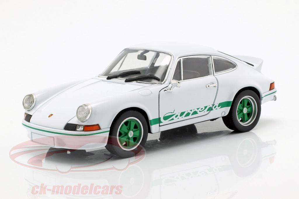 welly-1-24-porsche-911-carrera-rs-ano-de-construcao-1973-branco-verde-map02482218/