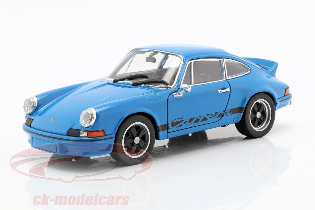 welly-1-24-porsche-911-carrera-rs-ano-de-construccion-1973-azul-bajo-vidriado-map02482318/