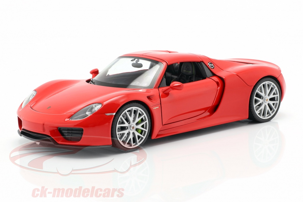 welly-1-24-porsche-918-spyder-ano-de-construccion-2013-2015-guardias-rojo-map02484016/