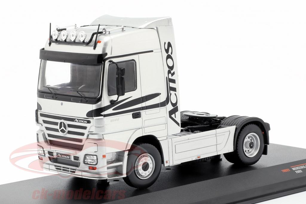 ixo-1-43-mercedes-benz-actros-camion-anno-di-costruzione-2002-argento-tr022/