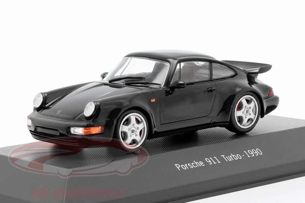 atlas-1-43-porsche-911-964-turbo-annee-de-construction-1990-noir-7114025-4025/