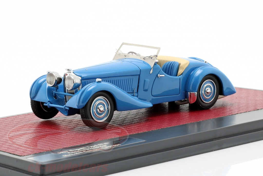 matrix-1-43-bugatti-type-57-s-corsica-roadster-malcolm-campbell-annee-de-construction-1937-bleu-mx40205-091/