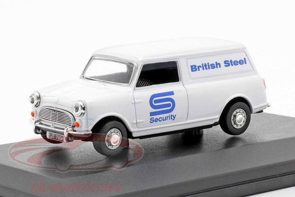 oxford-1-43-austin-minivan-british-steel-security-branco-azul-mv025/